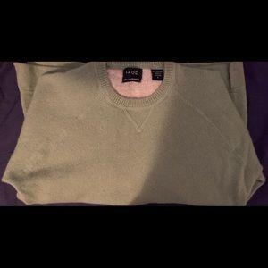 IZOD 2PLY Cashmere Light Green Sweater